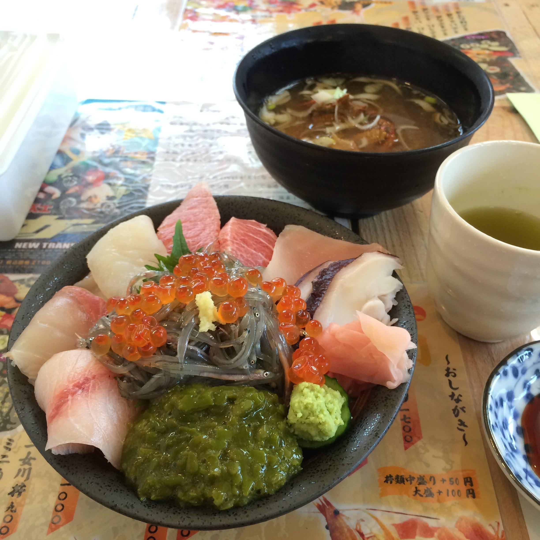 ミニ女川丼