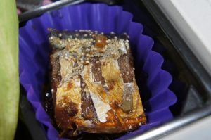 さんま黒酢煮(ヤマホンベイフーズ)