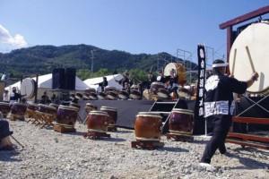 ステージ(太鼓)
