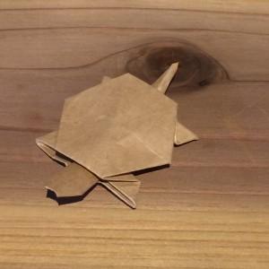 箸袋で作ったカメ